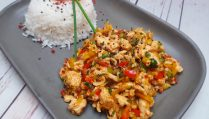 Chicken-mince-stir-fry
